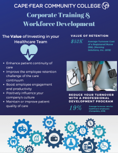 Download the Healthcare Corporate Training pamphlet